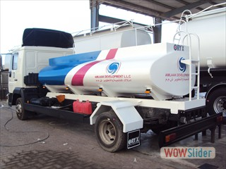Truck Mounted Fuel Tank